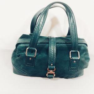 Talbots suede handbag